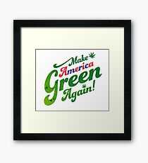 Make America Green Again! Framed Print