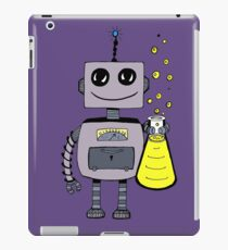 Cute Happy Robot  iPad Case/Skin