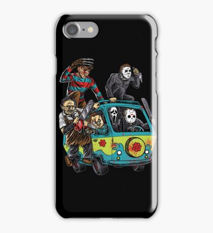 The Massacre Machine Horror iPhone Case/Skin
