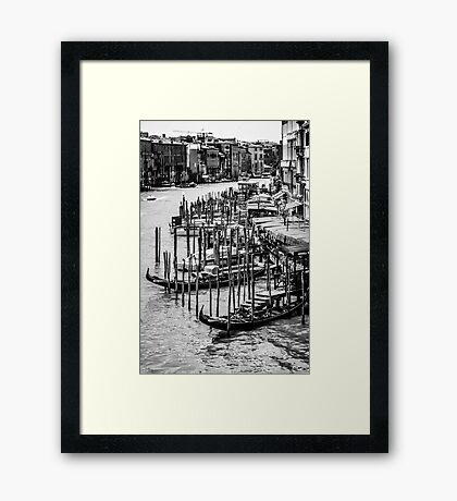Parking Lot Framed Print