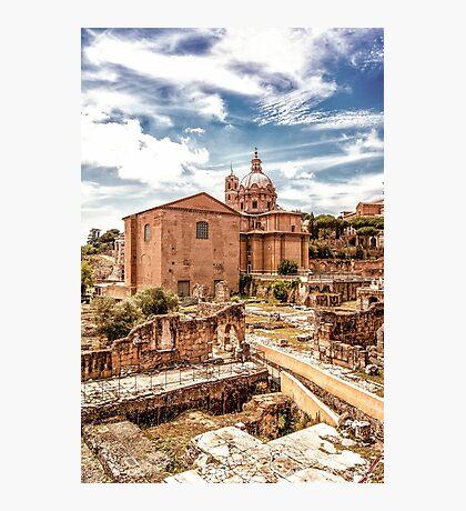 Roman Ruins Photographic Print