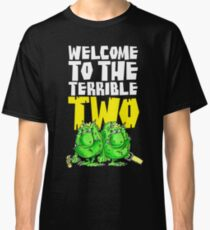 Graphic Terrible Two (dark) Classic T-Shirt
