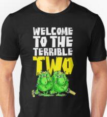 Graphic Terrible Two (dark) Unisex T-Shirt