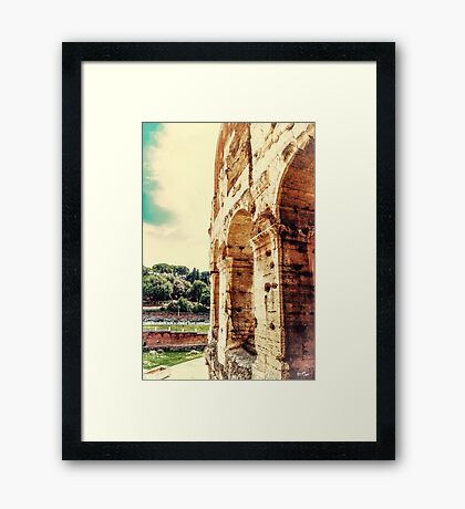 Beside the Arches Framed Print