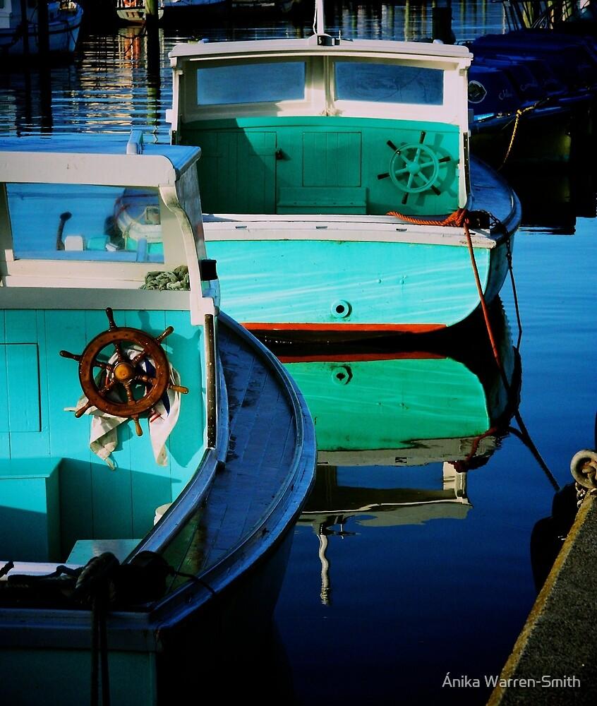 Wooden Boats by Ánika Warren-Smith