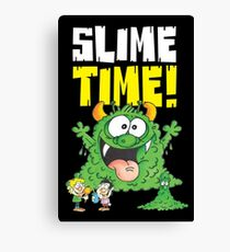 Graphic Slimey Joe (dark) Canvas Print