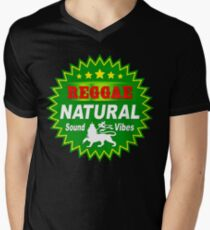 Reggae natural sound vibes Men's V-Neck T-Shirt