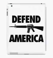 Defend America iPad Case/Skin