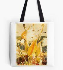 Milkweed in the autumn breeze Tote Bag