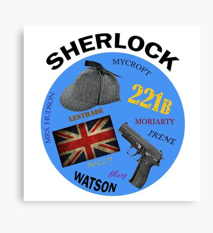 This is My Sherlock Aesthetic  Canvas Print