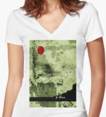 I was Women's Fitted V-Neck T-Shirt