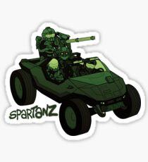 Spartanz Sticker