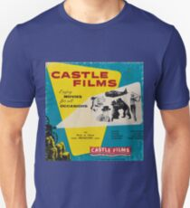 Castle Films: Enjoy Movies for All Occasions! Unisex T-Shirt