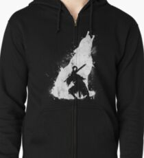Abyss Warrior Zipped Hoodie