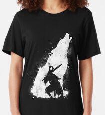 Guerrier des abysses T-shirt ajusté