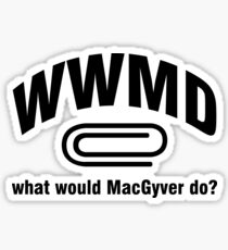 What Would His Do WWMD can do anything Sticker