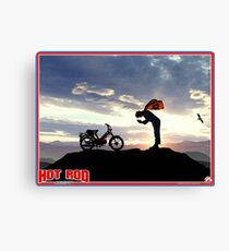 Hot Rod Poster Canvas Print