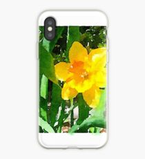 Daffodil in the Morning Sun iPhone Case
