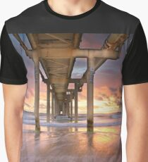 Fingal Sand Pumping Jetty Graphic T-Shirt