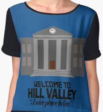 Welcome to Hill Valley Chiffon Top