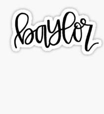 Baylor Sticker Sticker