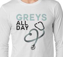GREY'S ALL DAY - GREY'S ANATOMY Long Sleeve T-Shirt