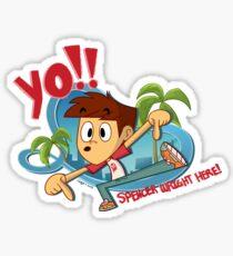 YO! It's Spencer! Sticker