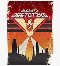 """Papers, Please - Propaganda, Poster """"Glory"""" Poster"""