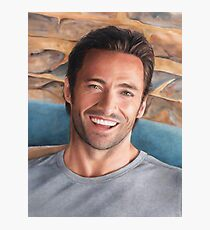 Hugh Jackman Art Photographic Print