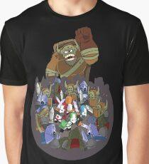 Castle Crashers 4 Swords Style Graphic T-Shirt
