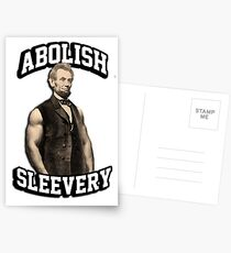 Abraham Lincoln - Abolish Sleevery Postcards