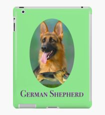 German Shepherd Breed Art With NamePlate iPad Case/Skin