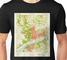 USGS TOPO Map Alabama AL Florence 303849 1957 24000 Unisex T-Shirt