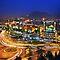 A city at night.....
