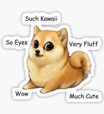 Kawaii Doge Sticker