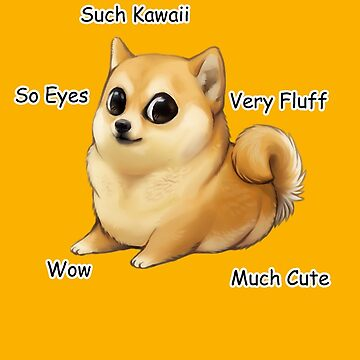 Kawaii Doge by Kitsuneace