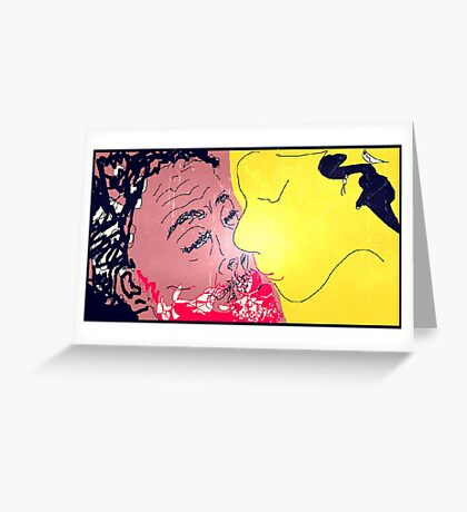 The Kiss III -(280814)- Digital artwork: MS Paint/Mouse Drawn Greeting Card