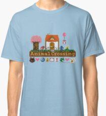 Animal Crossing Pixel house Classic T-Shirt