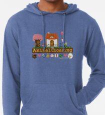 Animal Crossing Pixel house Lightweight Hoodie