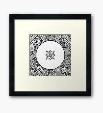 Compass Points Framed Print