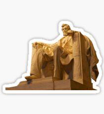 Abraham Abe Lincoln Memorial Sticker