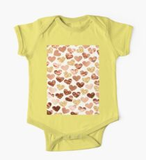 Rose gold hearts Kids Clothes