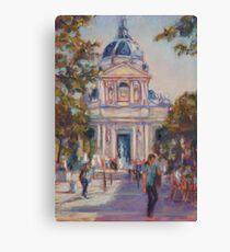 Place de la Sorbonne, Paris Canvas Print