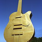 Golden Guitar, Tamworth NSW by Bev Pascoe