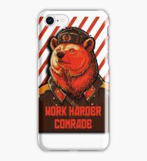 Vote Soviet bear - russian bear meme iPhone Case/Skin