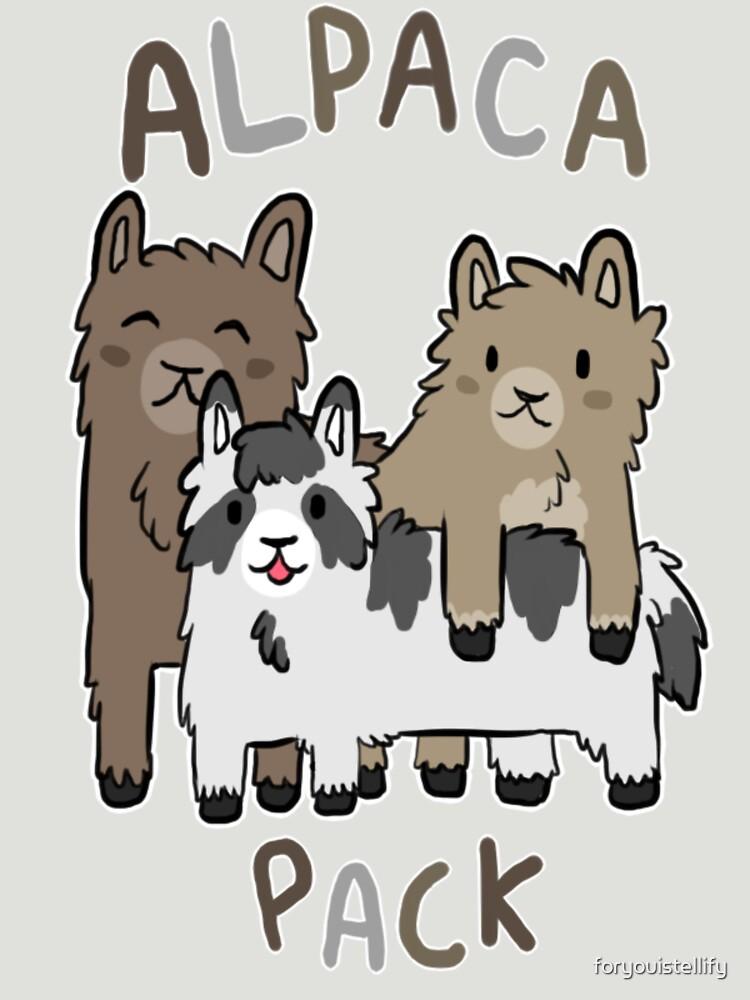 Alpaca Pack von foryouistellify
