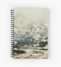 Hills around Kiakoura Spiral Notebook