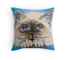 Fluffballs Throw Pillow