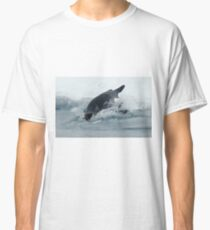 Diving Emperor Penguin Classic T-Shirt