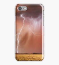 Stunning Sunset Lightning, Dowering, Western Australia iPhone Case/Skin